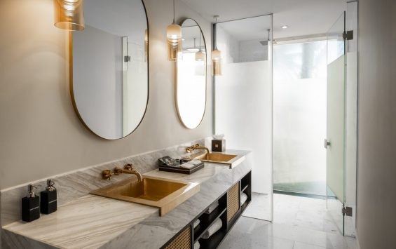 Three Bedroom Pool Villa (Ocean Front) - Twin Bathroom