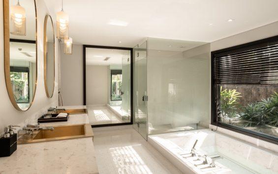Three bedroom pool villa (Ocean front) - Bathroom