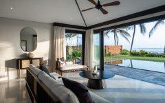 Three Bedroom Pool Villa (Ocean Front) - Living Area